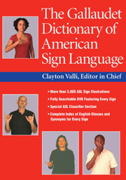The Gallaudet Children's Dictionary of American Sign ... |Gallaudet Dictionary